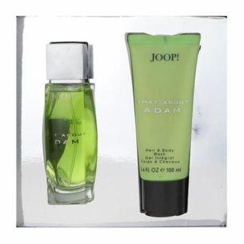 Joop What About Adam 2 Piece Gift Set EDT 2.5Oz & Body Wash 3.4Oz