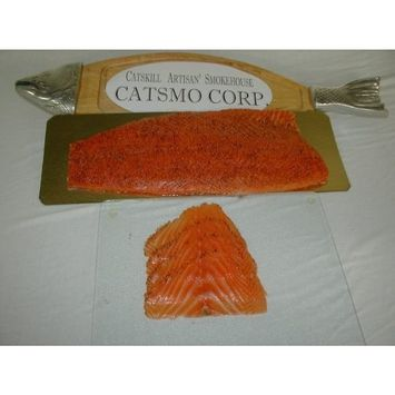 Solex Catsmo Bourbon & Pepper Smoked Salmon - 1lb Presliced Package