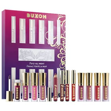 Buxom Party All Night Mini Lip Plumping Set