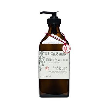 US Apothecary Juniper & Geranium Hand and Body Lotion