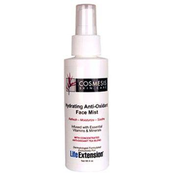 Life Extension Hydrating Anti-Oxidant Facial Mist 4 Ounces