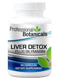 Professional Botanicals Liver Detox Plus Silymarin 60 caps