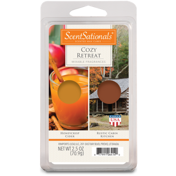 Rimports Inc. ScentSationals Duo Scented Wax Cubes Cozy Retreat