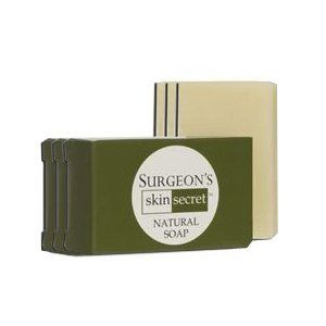 Surgeon's Skin Secret Natural Organic Bar Soap