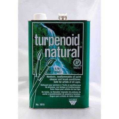 Martin/F. Weber Turpenoid Natural gallon can