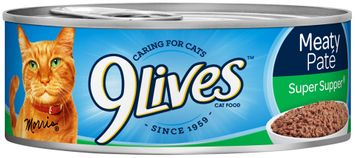 9Lives Meaty Pate Super Supper Wet Cat Food