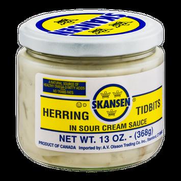 Skansen Herring Tidbits In Sour Cream Sauce