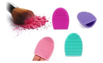 Yphone New Silicone Cosmetic Makeup Finger Glove Brush Cleaner