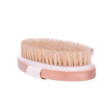 Boseen Natural Bristle Body Cellulite Brush, Clear Dead Skin Cells, Invigorate the Circulation of Blood