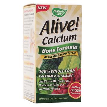 Nature's Way Alive! Calcium Bone Formula