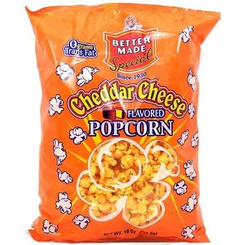 Better Made cheddar cheese flavored popcorn, 10-oz. bag
