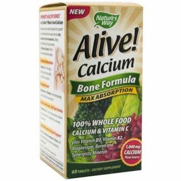 Nature's Way Alive Calcium Bone Formula, 60 CT