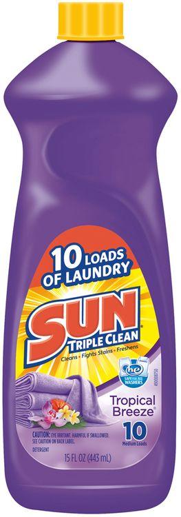 Sun® Triple Clean Tropical Breeze® Laundry Detergent