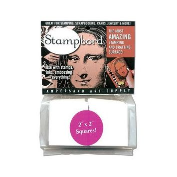 AMPERSAND ART SUPPLY STBAG122 STAMPBORD 1/2 POUND BAG 2X2 INCH