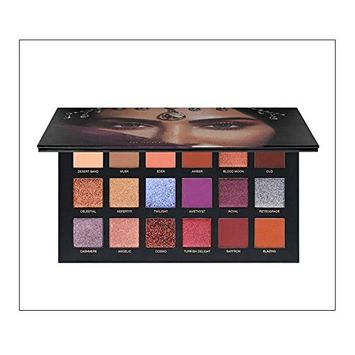 MEIQING Fashion 18 Colors Eyeshadow Palette Women Desert Dusk Matte Eyeshadow Pallete Waterproof Shimmer Eyeshadow Make Up Set