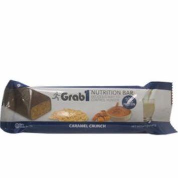 Grab1 Kosher Nutrition Bar 10g Protein Caramel Crunch Dairy Cholov Yisroel - 1 Bar