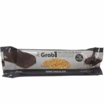 Grab1 Kosher Nutrition Bar 15g Protein Dark Chocolate Parve - 20 Bars