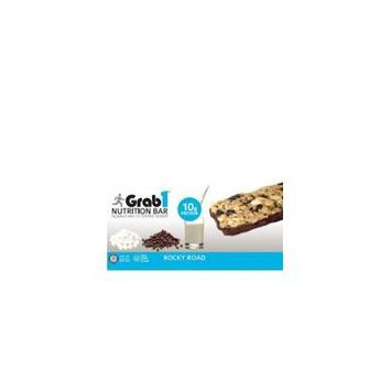 Grab1 Kosher Nutrition Bar 10g Protein Rocky Road Dairy Cholov Yisroel - 1 Bar