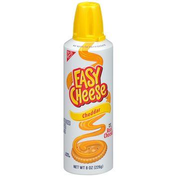 Easy Cheese Cheddar Cheese - 8oz