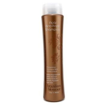 Brazilian Blowout Acai Anti Frizz Shampoo, 12 Ounce
