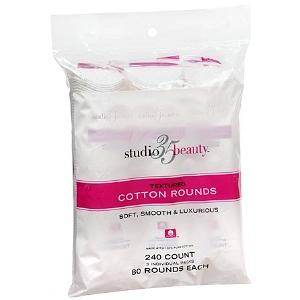 Studio 35 Cotton Rounds Textured 3Pk