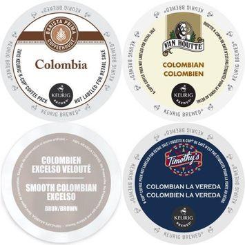 Faro Roasting Houses Colombia Coffee K-Cup Variety Pack Barista Prima, Van Houtte Colombian Medium, Faro Smooth Colombian & Timothy's La Vereda 96 ct
