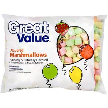 Great Value: Flavored Marshmallows, 10.50 oz
