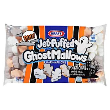 Jet-Puffed GhostMallows Vanilla Seasonal Marshmallows