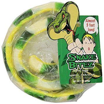 Taste of Nature Inc. Snake Bitez, 7-Ounce (Pack of 12)