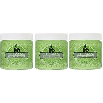 [PACK OF 3] CLUBMAN PINAUD TRAVEL SIZE STYLING POMADE 4 OZ (LIGHT HOLD) : Beauty
