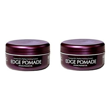 [Pack of 2] Bobos Remi Edge Pomade Styling Gel 2.5 oz Coconut Oil Perfect Holding Control : Beauty