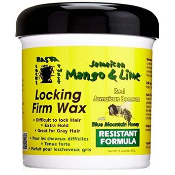 JAMAICAN MANGO & LIME LOCKING FIRM WAX RESISTANT