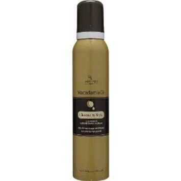 Hair Chemist Macadamia Oil Styling Mousse 6.3 oz. [Pack of 2]