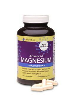 Advanced MAGNESIUM (by InnovixLabs). Highly Bioavailable Bisglycinate Malate Formula, 150 Vegetari
