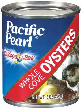 Pacific Pearl® by Chicken of the Sea® Whole Cove Oysters