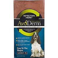 Breeder's Choice AvoDerm Revolving Menu Trout & Pea Recipe Adult Dry Dog Food