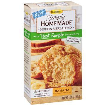 Fleischmann's® Simply Homemade® Banana Muffin & Bread Mix