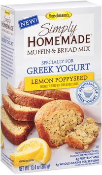 Fleischmann's® Simply Homemade® Lemon Poppyseed Muffin & Bread Baking Mix