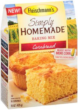Fleischmann's® Simply Homemade® Cornbread Baking Mix
