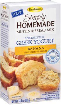 Fleischmann's® Simply Homemade® Banana Muffin & Bread Baking Mix