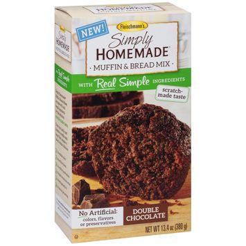 Fleischmann's® Simply Homemade® Double Chocolate Muffin & Bread Mix