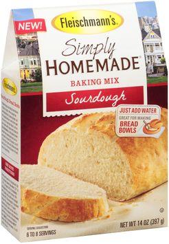 Fleischmann's® Simply Homemade® Sourdough Baking Mix