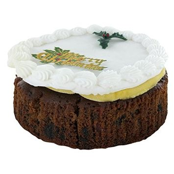 Top Iced Christmas Cake by Norfolk Manor - 32oz - 907g