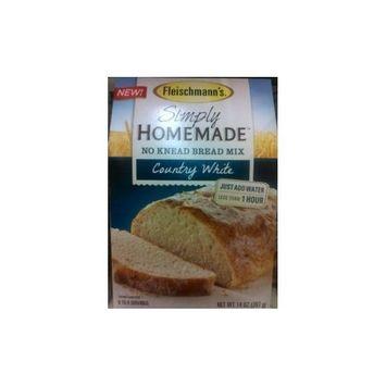 Fleischmann's Country White Simply Homemade No Knead Bread Mix, 14 Ounce
