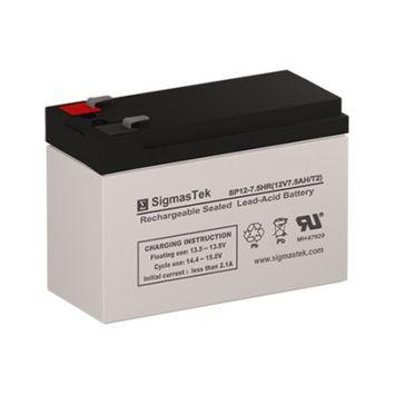 Peg Perego Fiat 500 IGOR0070US Replacement Battery (12V 7.5AH SLA Battery )