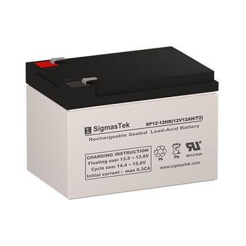 Peg Perego Polaris Ranger RZR IGOD0511 Replacement Battery (Set of 2 - 12V 12AH SLA Batteries)