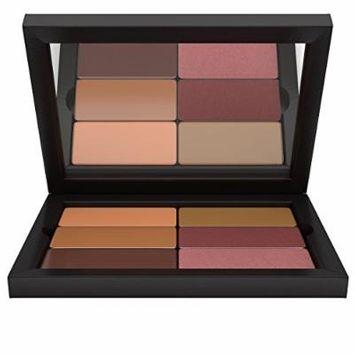 Contour/Highlight Blush Duo Makeup Palette: Dark Complexion