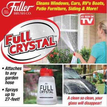 Full Crystal Window and All Purpose Clean Sprinkling Pot Sparkle BEST Way to Take Care of Your Outdoor Cleaning Tasks As Seen On Tv (Full Crystal powder not include)