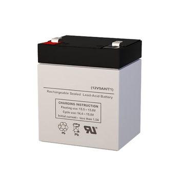 Vision CP1245H F1 Battery Replacement (12V 5AH SLA Battery)