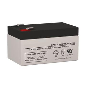 Smiths Medical MD SIMS 3000 Pump Battery Replacement (12V 1.2AH )